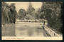 Real Photograph of the Gardens Nelson. - 48623 - Postcard