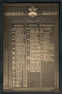 Real Photograph by The Broma Studio Hardy Street Nelson  (at one time owned by  A B Hurst) of school honours board. 1924 - 48624