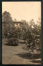 Real Photograph by The Broma Studio Hardy Street Nelson  (at one time owned by  A B Hurst) of The Garden. 1923. - 48625 - Postca