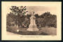 Real Photograph by Muir & Moodie of Troopers Memorial Nelson. - 48658 - Postcard