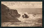 Postcard of Breakers at White's Bay near Blenheim. Nice SHANNON A class cancel. - 48725 - Postcard