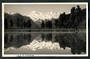 Real Photograph by N Hatwell Photographer of Fox Glacier of Lake Matheson. - 48761 - Postcard