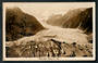 Real Photograph by A B Hurst & Son of Franz Josef Glacier. - 48769 - Postcard