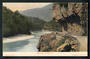 Coloured postcard of Bluff Buller River. - 48776 - Postcard