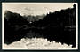 Real Photograph by A B Hurst & Son of Lake Matheson showing Mts Cook and Tasman. - 48798 - Postcard