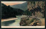 Coloured postcard of Bluff Buller Gorge. - 48803 - Postcard