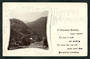 Real Photograph of Upper Buller Lyell Gorge. Christmas card. - 48831 - Postcard