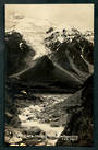 Real Photo by Radcliffe of  Hooker River and Stocking Glacier Southern Alps. - 48852 - Postcard