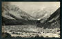 Real Photograph by Radcliffe of Mt Cook and the Hooker River. - 48866 - Postcard