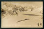 Real Photograph by Radcliffe of above Malte Brun Hut Tasman Glacier. - 48869 - Postcard