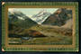 Coloured postcard of Mt Cook and The Hermitage. - 48877 - Postcard