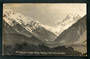 Real Photograph by Radcliffe of Mt Cook and Hooker Valley . - 48879 - Postcard