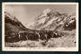 Real Photograph of Mt Cook from Hooker Glacier. - 48891 - Postcard