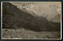 Real Photograph by N S Seaward of Mt Cook from the Hermitage. - 48893 - Postcard
