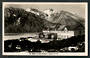 Real Photograph by A B Hurst & Son of The Hostel Mt Cook. - 48894 - Postcard