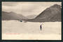 Early Undivided Postcard of Tasman Glacier Mt Cook. - 48900 - Postcard