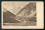 Early Undivided Postcard by Muir & Moodie of Mt Cook and Hermitage. - 48901 - Postcard
