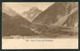 Early Undivided Postcard by Muir & Moodie of Mt Cook and Hermitage. - 48902 - Postcard