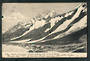 Early Undivided Postcard by Muir & Moodie of Mt Cook from Tasman Glacier foot of De la Beche. - 48903 - Postcard