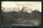 Real Photograph by Radcliffe of Liebig Range from Ball Hut. - 48911 - Postcard