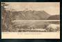 Early Undivided Postcard by Muir & Moodie of Lake Manapouri from the Beehive. - 49048 - Postcard