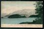 Early Undivided Coloured Postcard by Muir & Moodie of Cathedral Peaks Lake Manapouri. - 49051 - Postcard