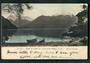 Early Undivided Coloured Postcard by Muir & Moodie of Head of Lake Te Anau from Happy Cove. - 49065 - Postcard
