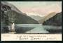 Early Undivided Coloured Postcard by Muir & Moodie of Safe or Happy Cove Lake Te Anau. - 49066 - Postcard