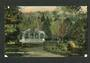 Coloured postcard of Botannical Gardens Dunedin. - 49169 - Postcard
