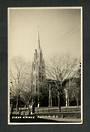 Real Photograph by Seaward of the First Church Dunedin. - 49205 - Postcard