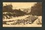 Postcard of Water of Leith showing Woodhaugh in the distance. - 49220 - Postcard