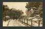 Early Undivided Real Photograph of Botannical Gardens Dunedin. - 49223 - Postcard