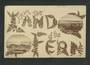 Real Photograph. From the Land of the Fern. Two views of Dunedin. - 49226 - Postcard