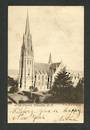 Early Undivided Postcard of First Church Dunedin. - 49247 - Postcard