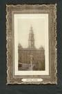 Real Photograph of Town Hall Dunedin. - 49250 - Postcard