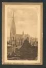 Sepia Postcard of Church Dunedin. - 49256 - Postcard