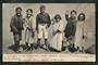 Early Undivided Postcard. A haka for a penny. - 49554 - Postcard