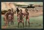 Coloured postcard of Children Haka. - 49557 - Postcard