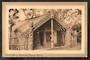 Sepia Postcard of Carved House Sanitorium Grounds Rotorua. - 49558 - Postcard