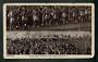 Postcard of Maori Men dancing the War Dance. Damage. - 49565 - Postcard
