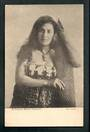 Postcard of Female Maori Canoeist. - 49567 - Postcard