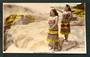 Tinted Real Photograph by A B Hurst & Son of Maori Guides Rotorua. - 49569 - Postcard