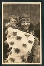 Real Photograph of Maori Woman and Child Rotorua. - 49573 - Postcard