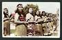 Tinted Real Photograph by A B Hurst & Son of Maori Poi Dancers Rotorua. - 49575 - Postcard