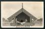 Real Photograph by A B Hurst & Son of Pataka Maori Food House Rotorua. - 49576 - Postcard
