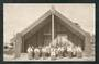 Real Photograph by Iles of Carved Meeting House Ohinemutu. - 49577 - Postcard