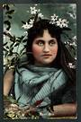 Coloured postcard of Maori Belle. - 49579 - Postcard