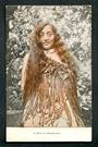 Coloured postcard of a maid of Maoriland. - 49584 - Postcard