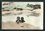 Coloured postcard of Maori Wahines Bathing at Whakarewarewa. - 49608 - Postcard