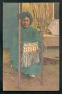 Coloured postcard of Wahine. - 49615 - Postcard